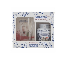 Fabbri - Couvette Amarena 600g + kit Amore Mio