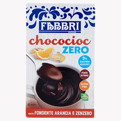 FABBRI - Chococioc Zero Dark chocolate, Orange & Ginger