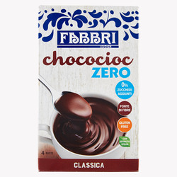 FABBRI - CHOCOCIOC ZERO box 4 single serve 25 g